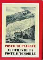 1986 POSTAUTO PLAKATE → 12 Attraktive Karten Schweiz. Alpenposten Im Set - Publicités