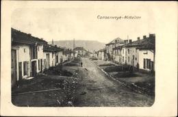 Cp Consenvoye Meuse, Blick In Die Mittelstraße, Wohnhäuser - France