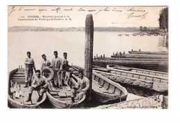 49 Angers Materiel Servant à La Construction De Ponts Par Le Genie Pont Militaire Soldat 1916 - Angers