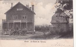 Orroir: Le Chalet De L' Enclus. (Restaurant,1903, Attelage) - Belgique
