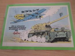 HELLER Me109 Et AMX13  PUBLICITE  1/2 Page De Revue Des Années 70/80 Plastifiée Par Me - France