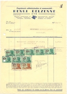 Factuur Facture - Imprimerie Henri Delzenne - Ath 1950 - Imprenta & Papelería