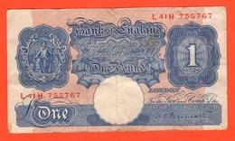 Great Britain One Pound 1948 / 1960 Inghilterra - Treasure