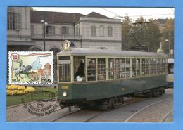 Italia - 100 Anni Di Trasporto Pubblico A Torino - Tramways