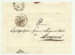 FRANCOBOLLO 6 KREUZER SILICA  1856 SU FRONTESPIZIO - Usati
