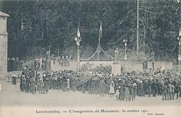 LAROCHEMILLAY - L'INAUGURATION DU MONUMENT 30 OCTOBRE 1921 - Francia