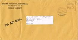 31460. Carta Aerea BELIZE (belize City) 1983. Postage PAID - Belice (1973-...)