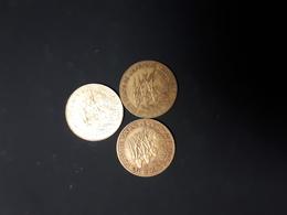 Central African States - Afrique Centrale 10 Francs 1984-1992-2003 - Monnaies