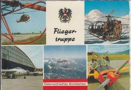 Österreichisches BUNDESHEER - Fliegertruppe,  Helikopter, Helicopter, Fouga Magister - Ausrüstung