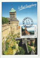Carte Maximum Château Du Haut Koenigsbourg - Cartoline Maximum