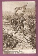 Cpa Mort Heroique D'un Porte Drapeau Polonais - Pinx J Styka - Scans Recto Verso - Guerre 1914-18