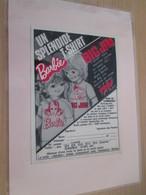 BARBIE OU BIG JIM  Pour  Collectionneurs ... PUBLICITE  Page A5 De Revue Des Années 70 Plastifiée Par Mes Soins - Barbie