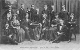 "¤¤  - ALLEMAGNE  -  COLOGNE -  Zitler-Club "" Alpenrose ""  CÖLN A Rh Gegr 1894  -  Orchestre  -  ¤¤ - Koeln"