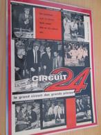 Page De Revue Des Années 60/70 : JOHNNY HALLIDAY PUBLICITE CIRCUIT 24 ELECTRIQUE  Format : Page A4 - Circuits Automobiles