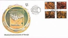 31464. Carta F.D.C. VHUFULI (venda) 1981. Musik, Musica Instrumentos - Venda
