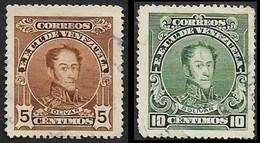VENEZUELA   1924   - YT 144 B Dentelé 14 -   Oblitéré - Cote 2.75e - Venezuela
