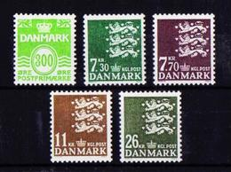 Dinamarca 937/41** Nuevo - Dinamarca