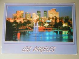 ETATS UNIS CA CALIFORNIA  LOS ANGELES AT NIGHT FROM BEAUTIFUL Mac ARTHUR PARK - Los Angeles