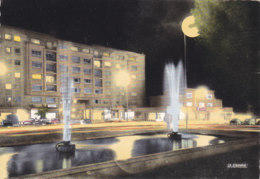 Maubeuge (59) - Place Des Nations Et Fontaines Lumineuses - Maubeuge