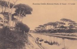 CARTOLINA - POSTCARD - RAVENNA - EMILIA DINTORNI - PINETA DI CLASSE - IL CANALE - VIAGGIATA DA RAVENNA PER PALERMO - Ravenna