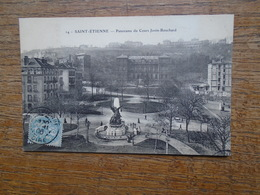 Saint-étienne , Panorama Du Cours Jovin-bouchard - Saint Etienne