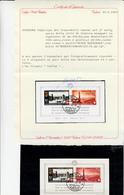 Suisse, Pro Patria. Bimillenario Della Città Di Ginevra, Foglietto Con Bollo Di Wohlen ( Aargan ) 1942 Cert. CAFFAZ - Pro Patria