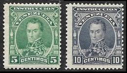 VENEZUELA   1904   - Fiscaux Postaux  N° 100 Et 101 -  Neufs - Venezuela
