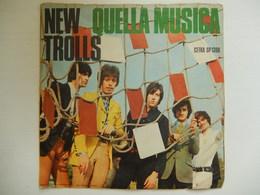45 Giri - NEW TROLLS, Quella Musica - Davanti Gli Occhi Miei - 45 G - Maxi-Single