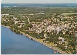 Flygvy Over TINGSRYD, Sweden, Aerial View, 1982 Used Postcard [20435] - Sweden