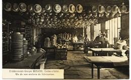 8892 - Saone Et Loire - CHALON Sur SAONE : Un Atelier De Fabrication De Chapeaux , Ets Georges MENAND  T.Beau Plan - Chalon Sur Saone