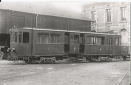 Photo -CFVE -  Saint Etienne- Tramway - Provenant Des Tramways De Nancy - Trains