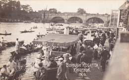 CPA - Borough Regatta - Kingston  - 1909 - Jamaïque