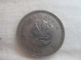 Rhodesia: 5 Cents / 6 Pence 1964 - Rhodésie