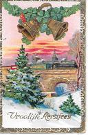 Train, Locomotive,Zug, Lokomotive, Treno, Locomotiva, Railway Bridge, Pont De Chemin De Fer, Champignon, Golden Details - Natale
