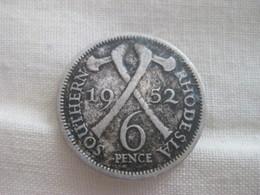 Rhodesia: 6 Pence 1952 - Rhodésie