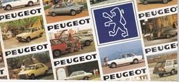 Catalogue - Peugeot,1982 - Voitures