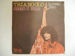 45 Giri - RENATO ZERO, Triangolo - Sesso O Esse - 45 G - Maxi-Single