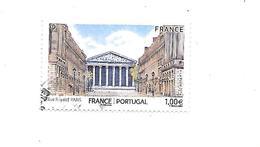 Série Touristique Architecture Du Portugal Et De France 5088 Oblitéré 2016 - France