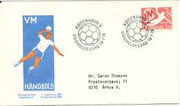 Denmark FDC 19-1-1978 WORLD Championship Handball With Cachet - Handball