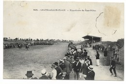 17-CHATELAILLON-PLAGE-Hippodrome Du Haut-Rillon...  Animé  Course  (timbre Décollé) - Châtelaillon-Plage