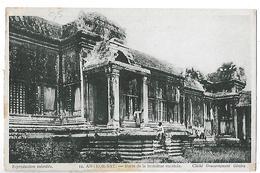 Cambodge. Angkor Vat , Porte De La Troisième Enceinte, Cliché Du Gouvernement Général. - Cambodja