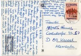 Portugal - Carimbo Numérico N°42 - Sobre Bilhete Postal Do Algarve - Storia Postale