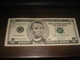 5 DOLLARS SERIES 2003 A - USA