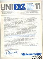 Journal Uni Faz Frankfurt 32 Pages - Revues & Journaux