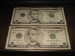 5 DOLLARS   X 2 SERIES 2003 A  2001 - USA