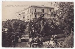 GREECE CORFU ACHILLEION PALACE, GARDEN GATE & HORSE CART 1910s Vintage Postcard - Greece