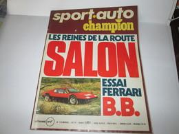 Revue  SPORT AUTO   Octobre 1974   Bon Etat - Auto/Moto