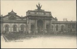 BRUXELLES :  La Gare Du Midi - Spoorwegen, Stations