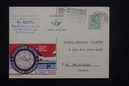 BELGIQUE - Entier Postal Publibel ( Ostende / Douvres ) De Bruxelles Pour St Etienne En 1971 - L 22093 - Stamped Stationery