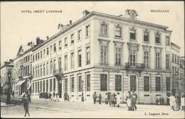BRUXELLES : Hôtel Crédit Lyonnais  // Belle Animation - Spoorwegen, Stations